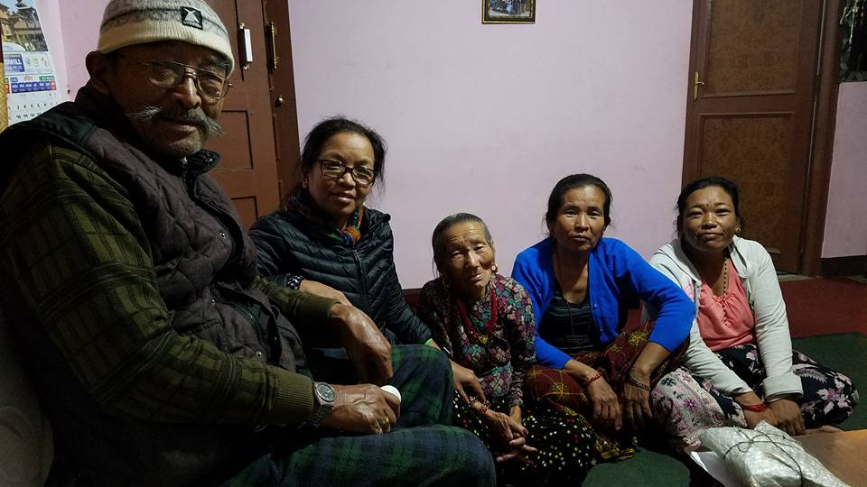Resham's Family in Nepal
