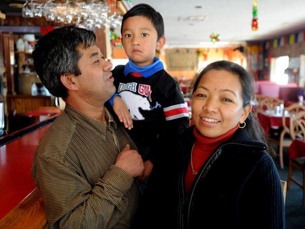 Resham Gurung Lok Malla owners Kathmandu Restaurant