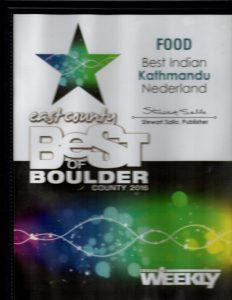 Best East County Indian Food 2015