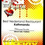 Best Nederland Restaurant 2013