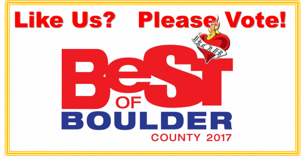 Best of Boulder 2017 Like Us Please Vote