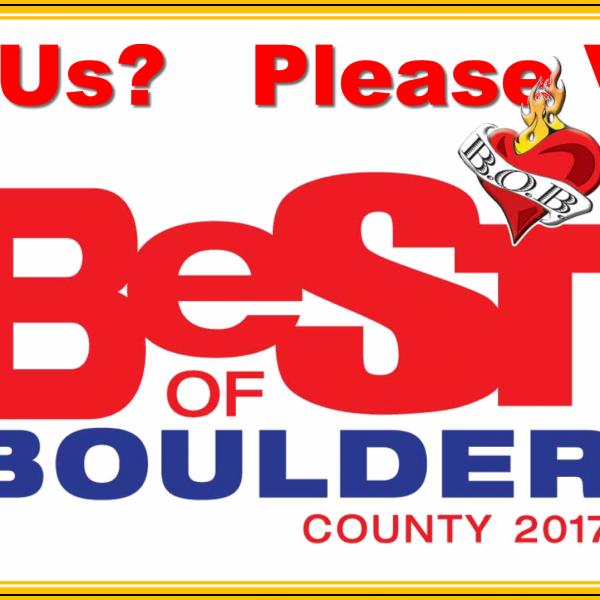 Best of Boulder 2017 Like Us Please Vote