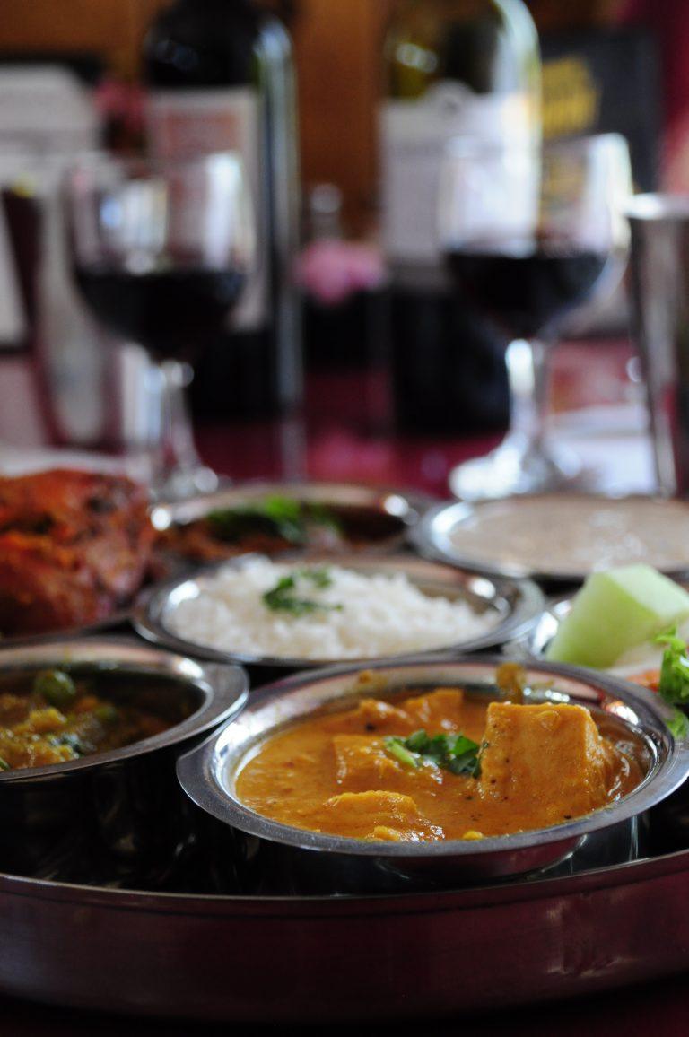 Nepali Meat Thali Closeup