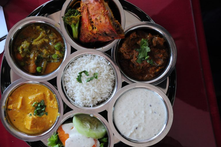 Meat Thali Kathmandu