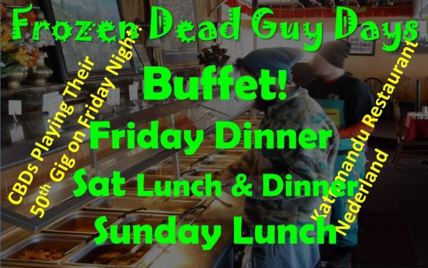 Frozen Dead Guy Days Buffett