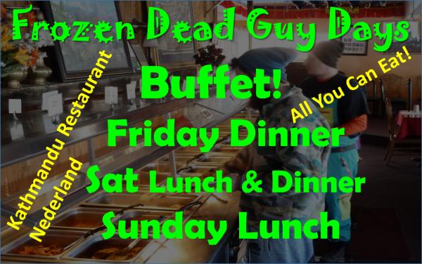 Frozen Dead Guy Days Buffet All You Can Eat