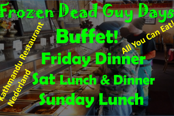 Frozen Dead Guy Days Buffet All You Can Eat